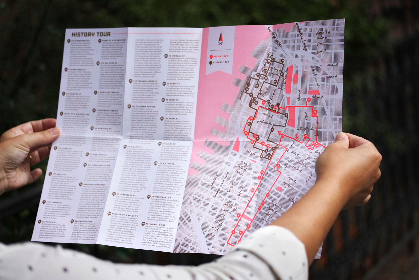 Image of work from the South Brooklyn Curiosity Map project.