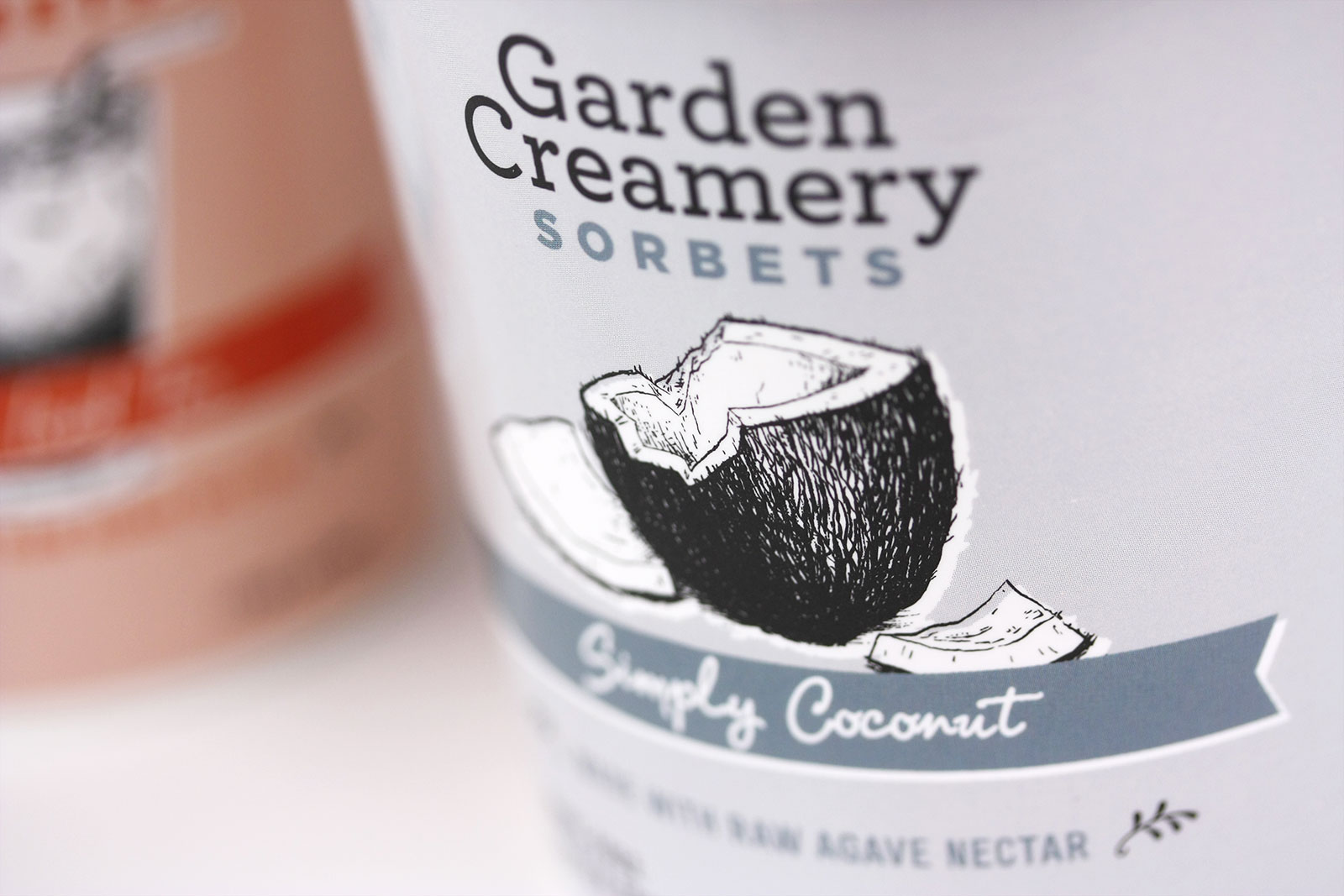 Image of work from the Garden Creamery Sorbets project.